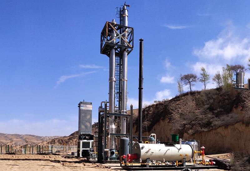 小型LNG装置系统